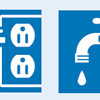 Electric Water Icons